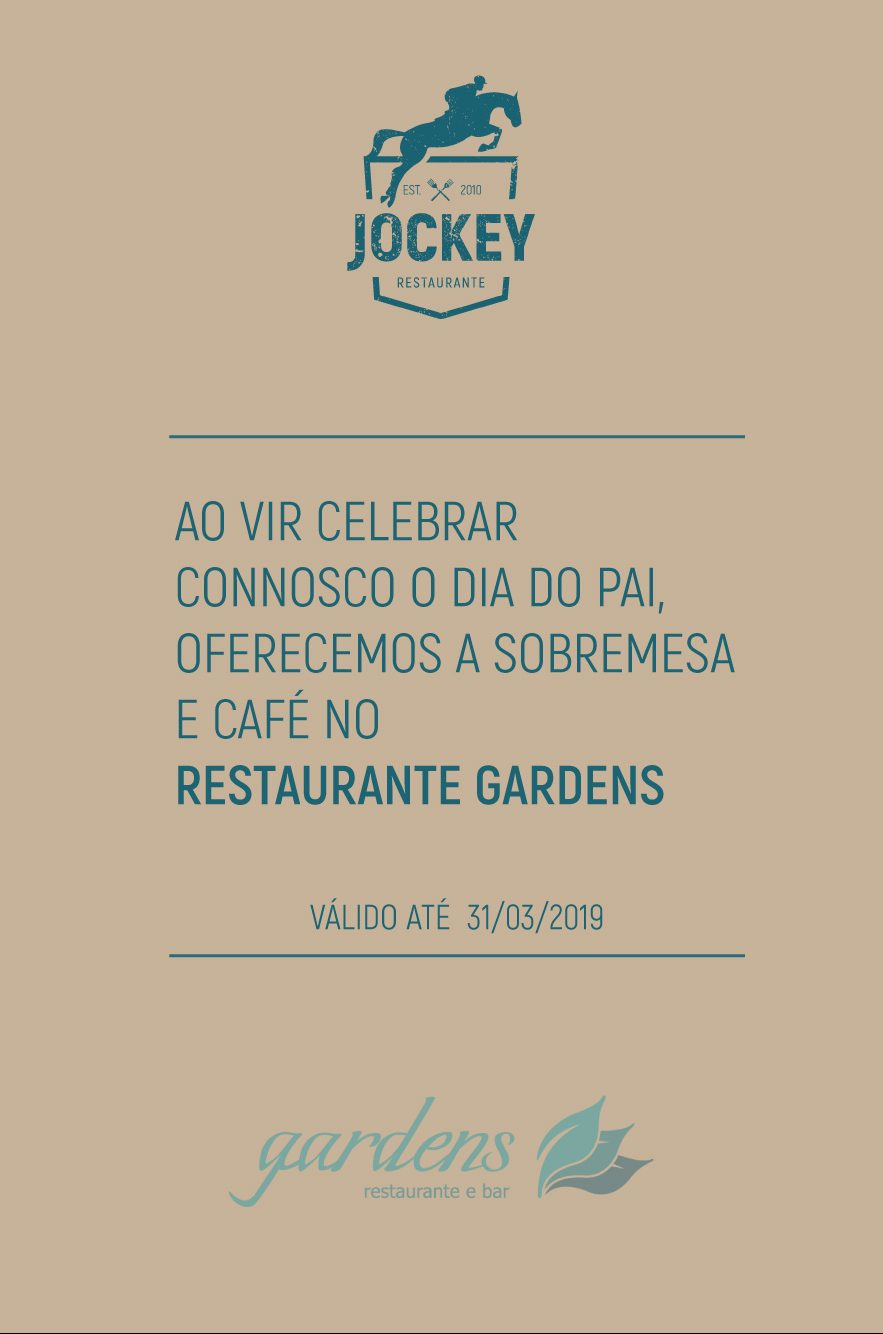Dia do Pai no Restaurante Jockey