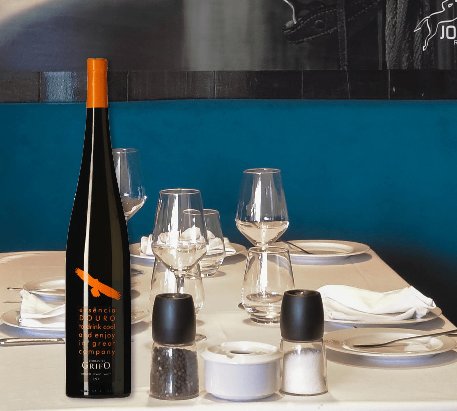 Terras Do Grifo Essência: sabores do Douro à Mesa do Jockey