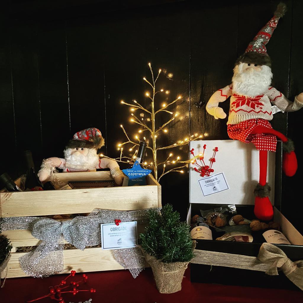 Venha conhecer os Cabazes de Natal do Jockey!